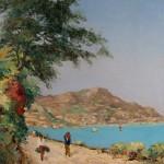 Carl Bowedt - Veduta di Amalfi